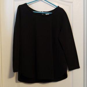 Merona Long Sleeve Ribbed/Textured Shirt